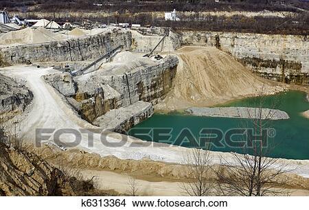 Limestone Quarry Picture