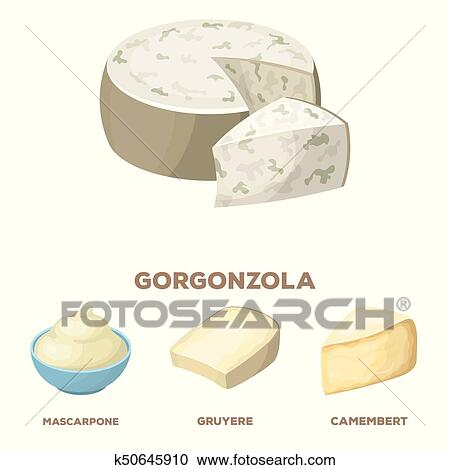 Cheese Making Various Types Of Cheese Set Of Vector Sketches.. Royalty Free  Cliparts, Vectors, And Stock Illustration. Image 79257416.