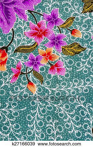 Stock Illustration Of Batik Pattern K60 Search Vector Stunning Batik Pattern