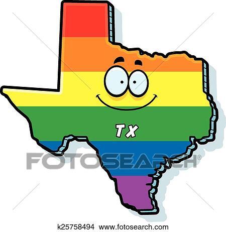 clipart of cartoon texas gay marriage k25758494 search clip art rh fotosearch com Cowboy Boots Clip Art Texas Flag