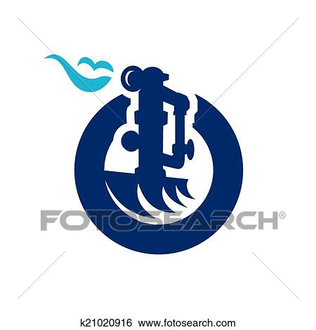 Clip Art Of Natural Gas Industry Sign K21020916 Search Clipart