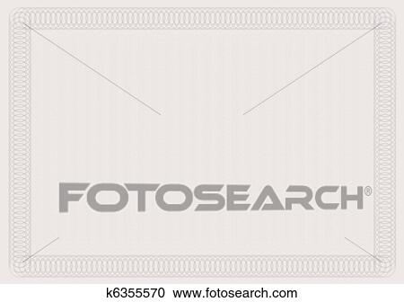 Clipart of blank certificate template k6355570 search clip art blank certificate template in shades of brown yadclub Gallery