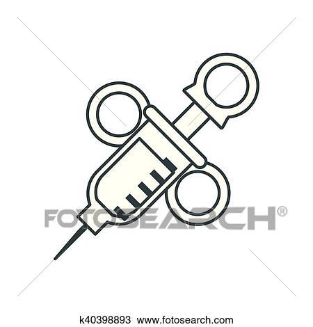 Clipart Of Dental Medical And Health Care Design K40398893