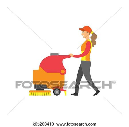 Clipart kostenlos putzfrau