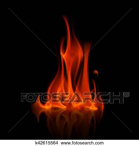 Hintergrund rot feuer