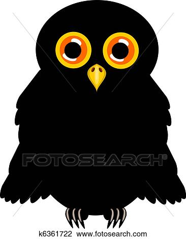 Clip Black And White Cute Owl Halloween Clipart - Halloween Owl Clipart,  Cliparts & Cartoons - Jing.fm