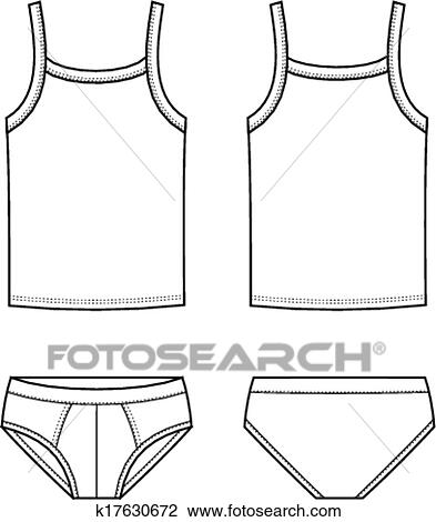 Underwear Clipart K17630672 Fotosearch