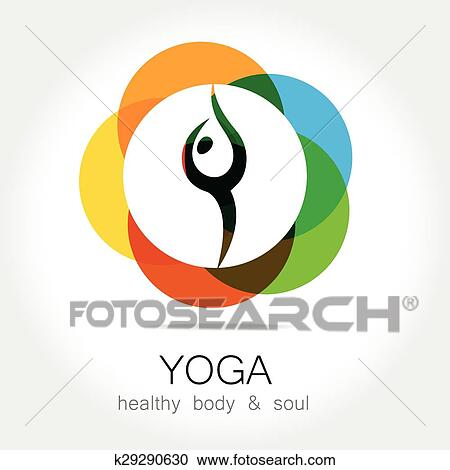 Clipart Of Yoga Health Body Soul K29290630