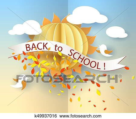 Back To School Clip Art With Lettering Text. Wise Cute Owl On.. Royalty  Free Cliparts, Vectors, And Stock Illustration. Image 110408028.