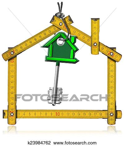 clip art of concept of new home k23984762 search clipart rh fotosearch com new home clip art border new home clipart to print