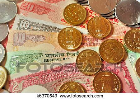 Stock Photograph Indian Currency And Coin Fotosearch Search Photography Posters