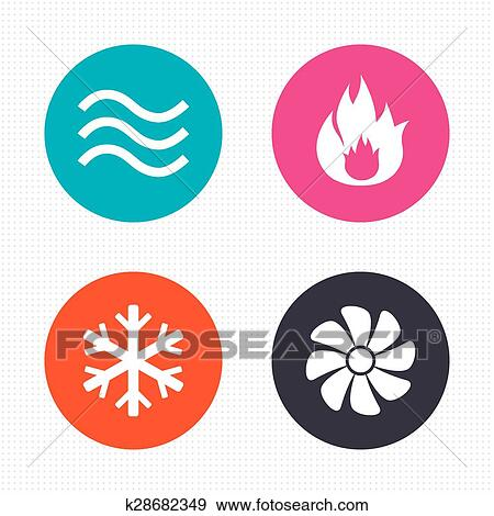 clip art of hvac heating ventilating and air conditioning rh fotosearch com
