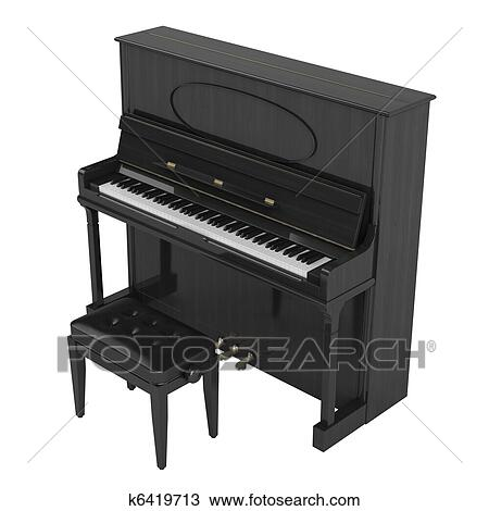 dessin piano droit k6419713 recherchez des cliparts des illustrations et des images. Black Bedroom Furniture Sets. Home Design Ideas