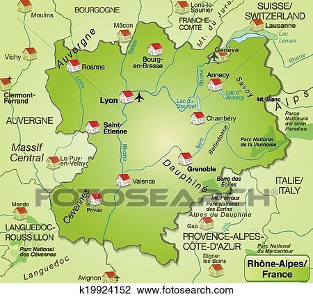 6c2d50d87d6f2a Kaart Frankrijk Rhone Alpes Information and Ideas - Herz Intakt