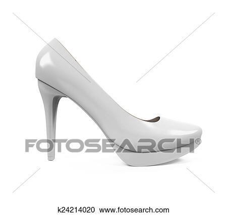 b7860f74191 Stock Illustrations of High Heel Shoe k24214020 - Search Clipart ...