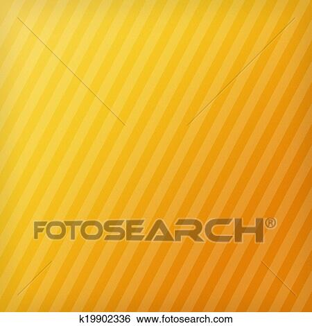 Striped Yellow Orange Paper Background Abstract Design