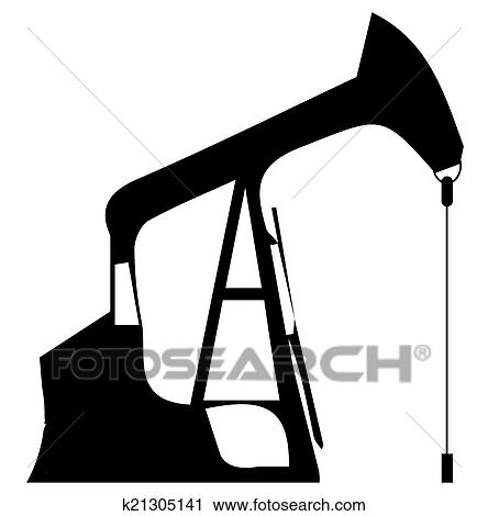 clipart of oil rig k21305141 search clip art illustration murals rh fotosearch com oil rig clip art free offshore rig clipart