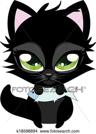 Hillento simpatico astuccio gatto d borse stampa matita studente