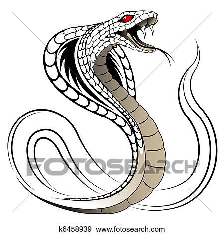 Vecteur Serpent Cobra Clipart