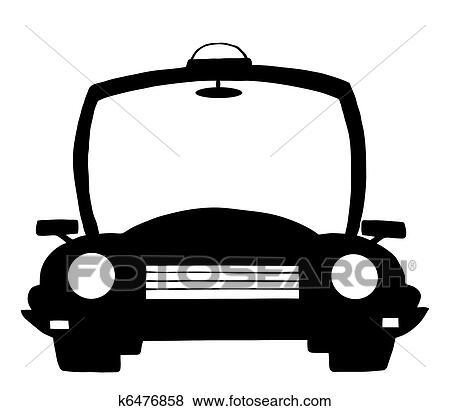 Clipart police dessin anim silhouette voiture k6476858 recherchez des cliparts des - Voiture police dessin anime ...