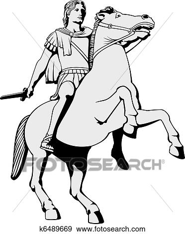 clip art of alexander the great k6489669 search clipart