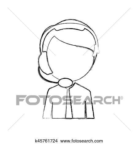 Dessin Corps Homme clipart - monochrome, croquis, de, moitié, corps, homme, de