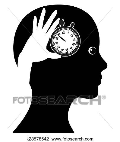 clip art of time management k28578542 search clipart illustration rh fotosearch com time management cartoons time management clipart images
