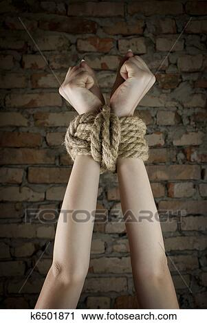 Tied up pictures