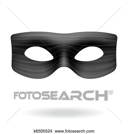 clipart of masquerade mask k6505524 search clip art illustration