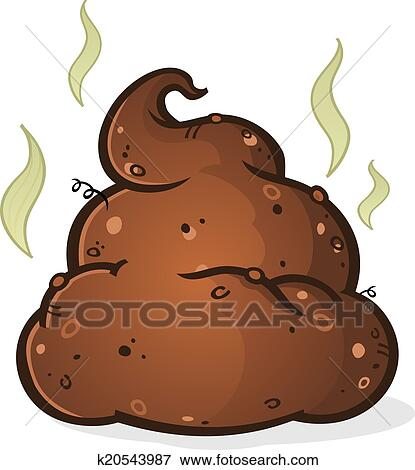clip art of poop pile cartoon k20543987 search clipart rh fotosearch com clip art poppy clip art poppy flower