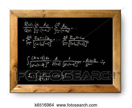 brett schwarz tafel schwierige formel mathe bild. Black Bedroom Furniture Sets. Home Design Ideas