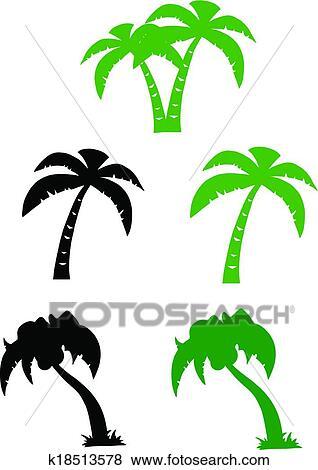 palmier silhouette