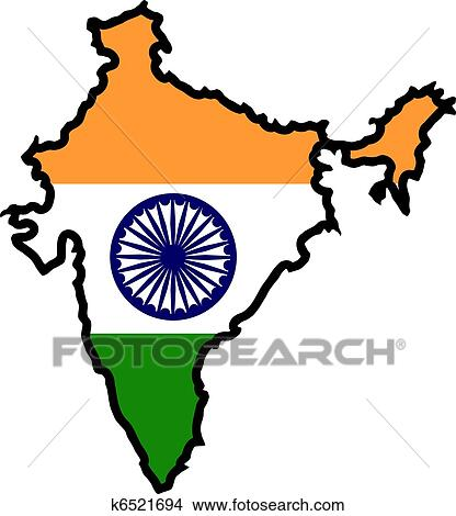 clipart of colors of india k6521694 search clip art illustration rh fotosearch com indian clipart free indian clip art black and white