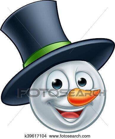 Clipart - snowman a3e712f1925