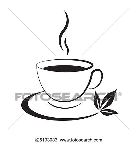 tea cup icon black drawing k25193033 fotosearch https www fotosearch com csp653 k25193033