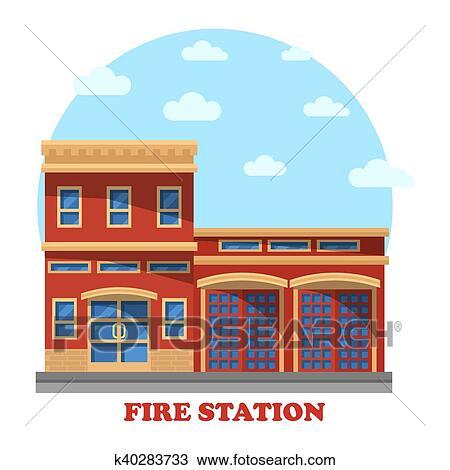 Vecteur Ensemble Dicônes De La Caserne Des Pompiers Vecteurs libres de  droits et plus d'images vectorielles de Accident et désastre - iStock