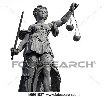 Lady Justice Stock Photo   k6561987   Fotosearch