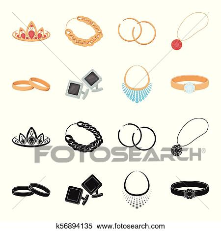 Clipart Of Wedding Rings Cuff Links Diamond Necklace Women Ring