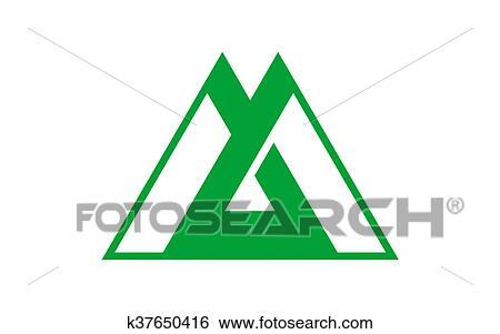 旗 の 富山の 県 日本 イラスト K37650416 Fotosearch