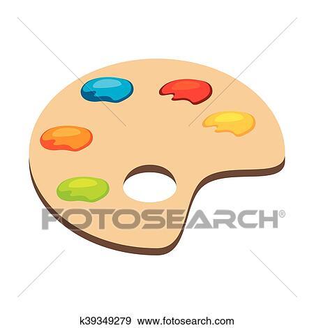Clipart palette couleur art k39349279 recherchez des - Palette a dessin ...