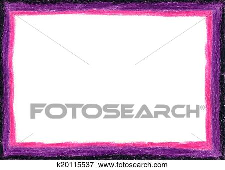 Stock Illustration Of Pink And Purple Empty Frame K20115537 Search