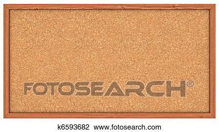 clip art of cork board k6593682 search clipart illustration rh fotosearch com bulletin board design clipart bulletin board clipart free