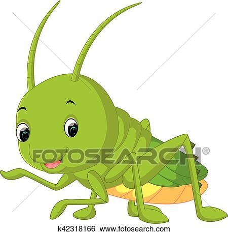 Clipart sauterelle dessin anim k42318166 recherchez - Sauterelle dessin ...