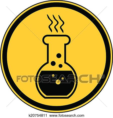 Danger Chemicals Sign Clipart K20754811 Fotosearch
