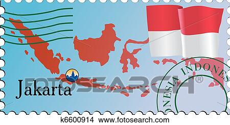 Clipart Of Stamp Capital K6600914