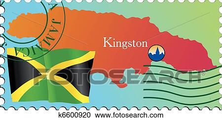 Clipart Of Stamp Capital K6600920