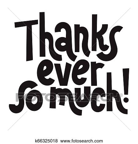 Thank you quotes and stickers Clip Art