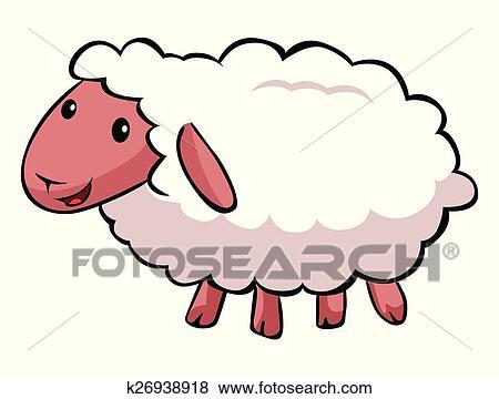 Clipart hapy mouton dessin anim k26938918 - Mouton dessin anime ...