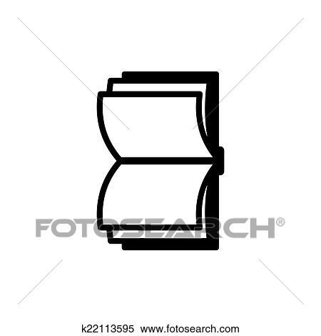 Livre Icon Vecteur Logo Clipart