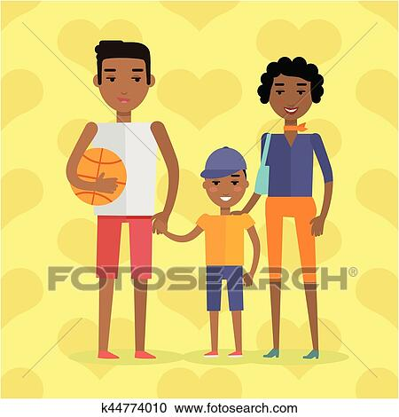 African American Family Clipart | +1,566,198 clip arts